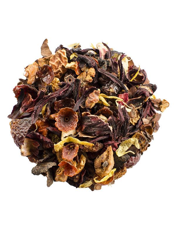 Organic Herbal Chocolate Fruit Tea Tisane